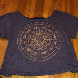 Zodiac crop top